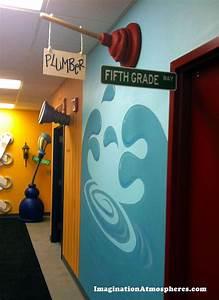 Children's hallway theme for CenterPoint Church, Concord ...