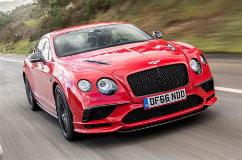 2017 Bentley Continental Gt Supersports Review Autocar