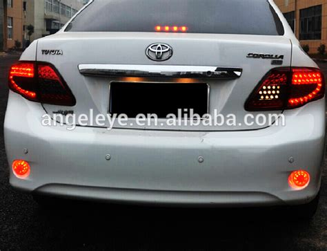 2010 toyota corolla tail light cover for toyota corolla altis led rear light 2008 2010 year red