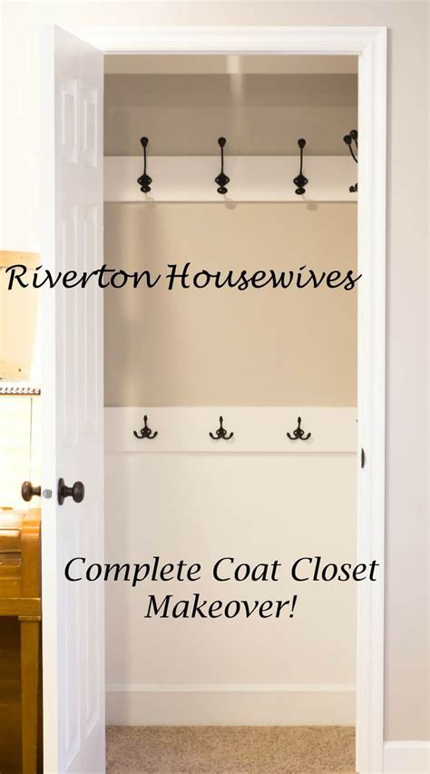 25 best ideas about small coat closet on