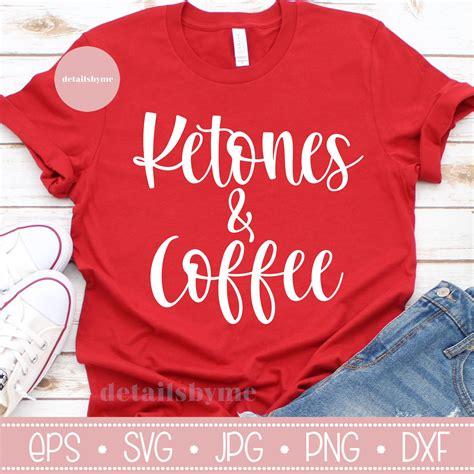 coffee svg balloons text ketones