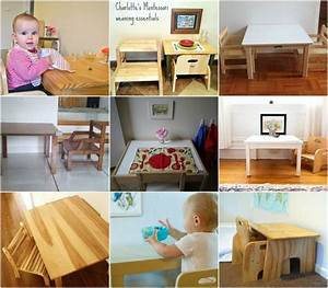Real Montessori Weaning Tables!!