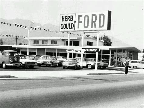 images  vintage car dealership  pinterest