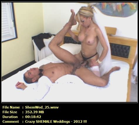 Shemale Wedding Fuck First Sex After Marriage New 2012