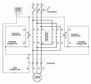 Full Voltage Reversing 3 Wiring Diagram