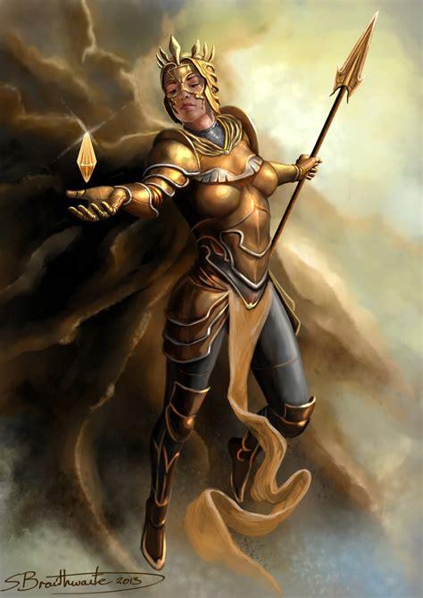 Goddess Of Light by Goddess Of Light By Sbraithwaite On Deviantart