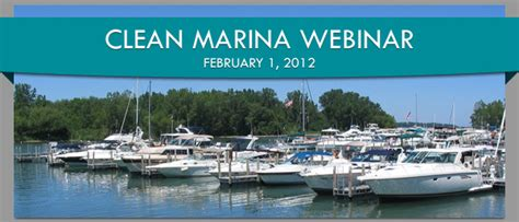 Ny Sea Grant  Registration Open For February Clean Marina