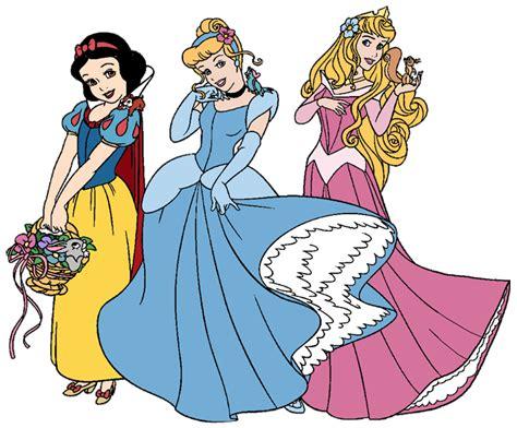 Disney Princesses Clip Art