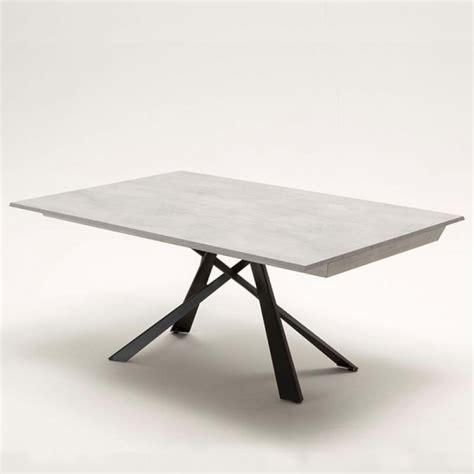table design italienne table design italienne extensible avec pied mikado lungo largo 4 pieds