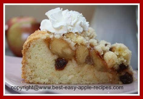 easy apple raisin cake recipe   apple pie filling