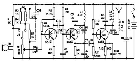 Microphone Circuit Audio Circuits Next