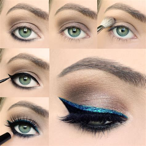 Step by step to sultry #cateyes using #Artliner24H
