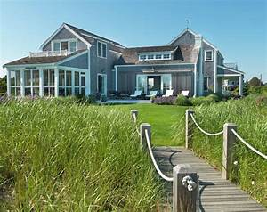 Nantucket Beach Cottage with Coastal Interiors - Home