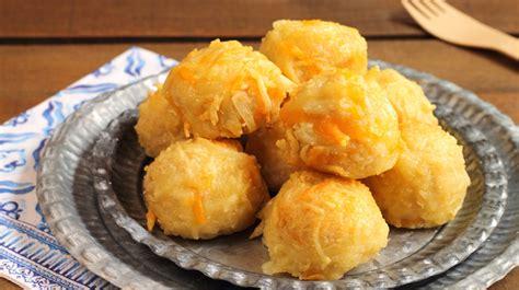 le chef en cuisine beignets jambon fromage recette gourmande