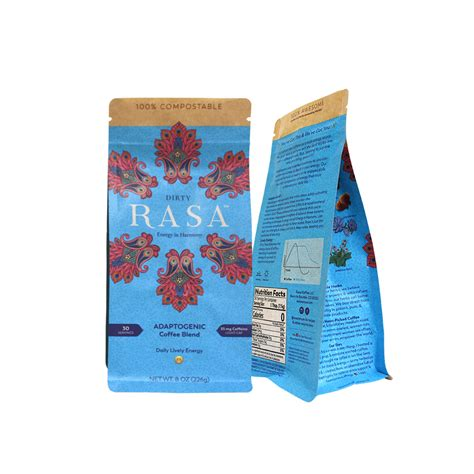 You can download in.ai,.eps,.cdr,.svg,.png formats. Eco Friendly Coffee Packaging Zip Bio Degradable K Seal Bags Bolsa De Caf Desechable from China ...