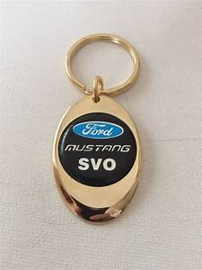 Ford Mustang SVO Keychain Solid Brass key chain Personalized Free | eBay