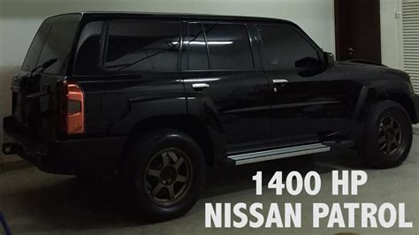 horsepower nissan patrol  dubai youtube