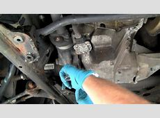 Changing Fluid in BMW 4WD Front Differential Under Car