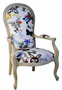 Fauteuil Butterfly Pas Cher : tissu butterfly parade de christian lacroix motif ~ Dailycaller-alerts.com Idées de Décoration