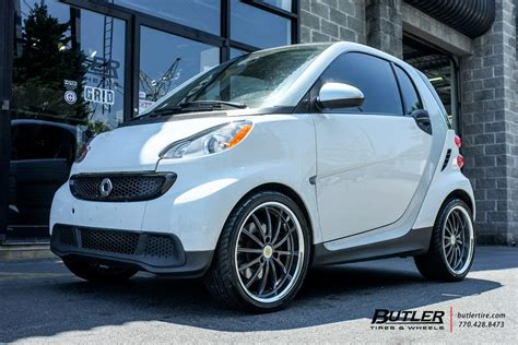 smart fortwo   genius darwin wheels exclusively