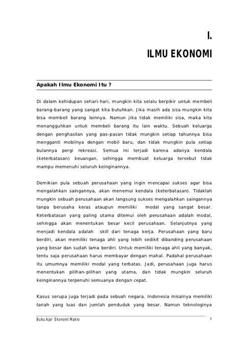 Contoh Soal Ekonomi Makro Perekonomian 4 Sektor - 600 Tips