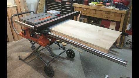 I set up the kobalt 15 amp 10 in carbide tipped table saw. Kobalt Table Saw Fence Upgrade