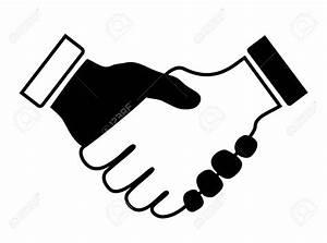 Shake Hand Clipart Black And White & Shake Hand Clip Art ...