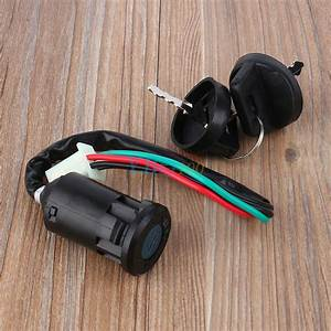 4 Wire Ignition Key Switch For 50 90 110 125cc Chinese Atv Go Kart Taotao Dirt