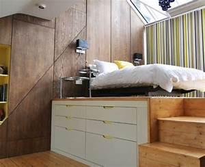 Chambre Gain De Place : une jolie chambre coucher avec meubles gain de place a envisag de tout urgence 2017 en 2019 ~ Farleysfitness.com Idées de Décoration