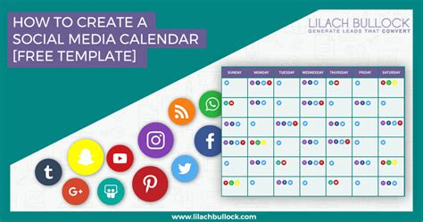 How To Create A Social Media Calendar + Free Social Media