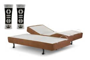 new 2015 scape split king adjustable bed base frame by