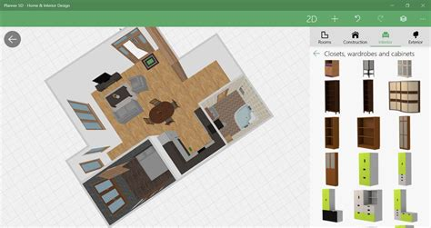 plan  furnish spaces    planner  design app