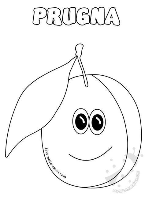 frutta disegni da colorare  bambini disegni da