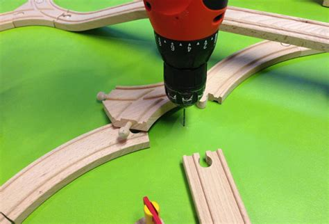 train table set for 2 year old ethan 39 s christmas wish a diy train board