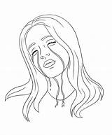 Billie Eilish Coloring Pages Printable Popular sketch template