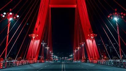 Neon Road Bridge 4k Uhd 1080p Hdtv