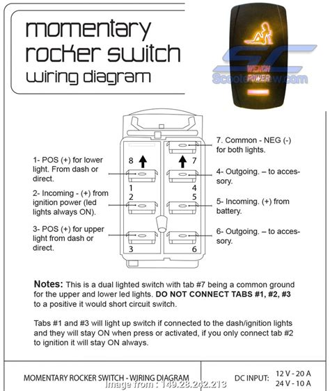 950 x 1129 jpeg 186 кб. Toggle Switch Wiring 6 Pin Top Momentary Rocker Switch Wiring Diagram, Trusted Wiring Diagrams ...