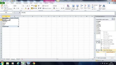 excel pivot table tutorial pivot image 8 pivot tables in excelpivot tables in excel