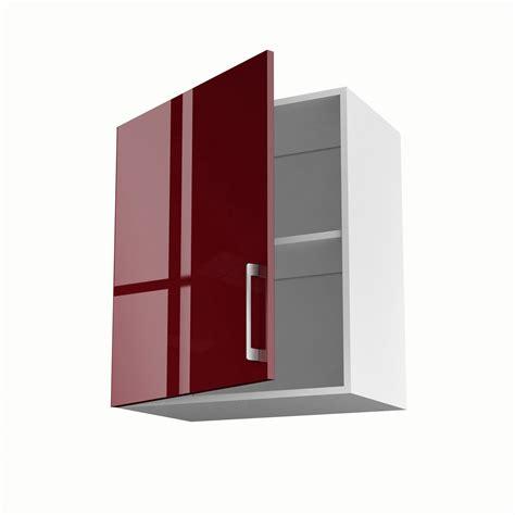 element haut de cuisine meuble de cuisine haut 1 porte griotte h 70 x l 60 x