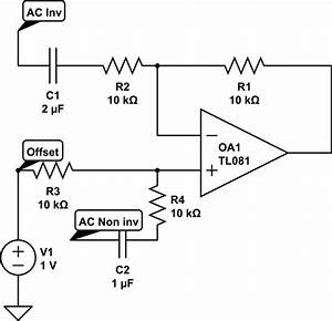 what is the simplest op amp level shifter electrical With opamp levelshifting