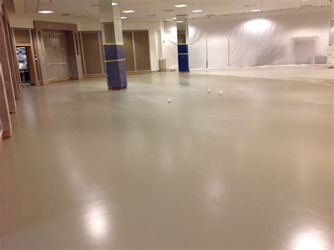 Applied Flooring's Polished And Colored Concrete Success