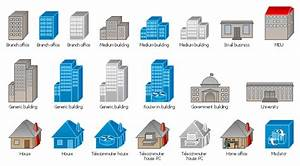 Cisco Buildings   Cisco Icons  Shapes  Stencils And