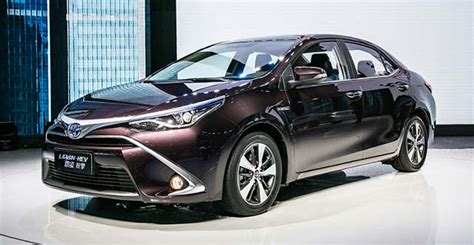 Toyota Elbil 2020 by Toyota To Launch Corolla And Levin In Hybrid In China