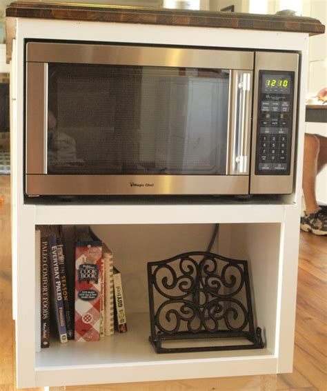 the cabinet microwave building a custom microwave cabinet simply swider