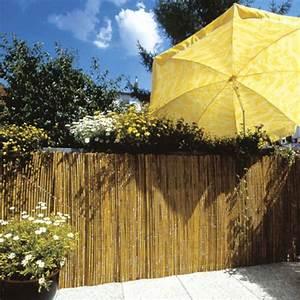 Bambusmatte Sichtschutzmatte Tonkin Natur Sichtschutz