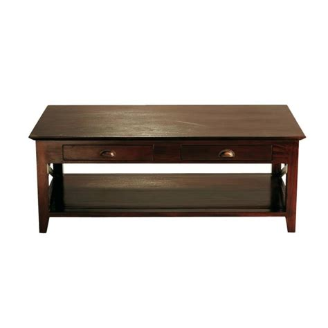 chambre conforama ado table basse en mahogany massif l 120 cm acajou maisons
