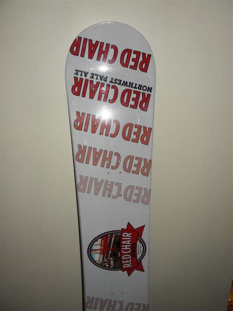 deschutes chair snowboard west pale ale 155cm deschutes brewery chair