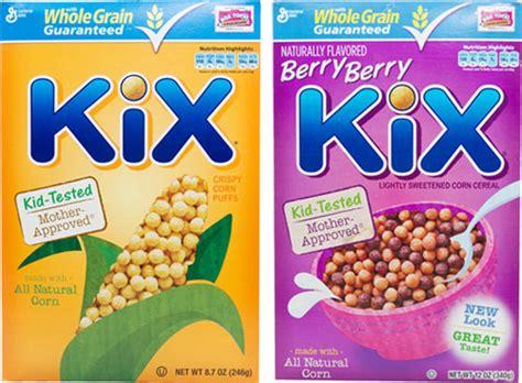 cereal eats kix  eats