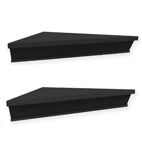 They're available in a wide range of sizes and finishes to fit and coordinate with the. Wall Solutions Ledge 2-Piece Corner Shelf Set | Bed Bath ...