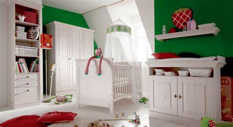 Babyzimmer Komplett In Weiß Aus Massiver Kiefer